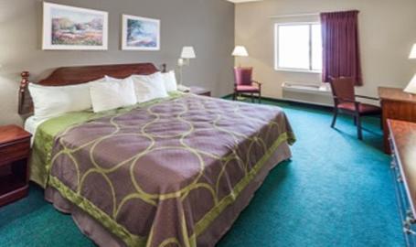 Super 8 Motel Hotel Valparaiso King