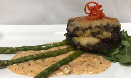 Teibel's Restaurant and Cafe Schererville portabella filet