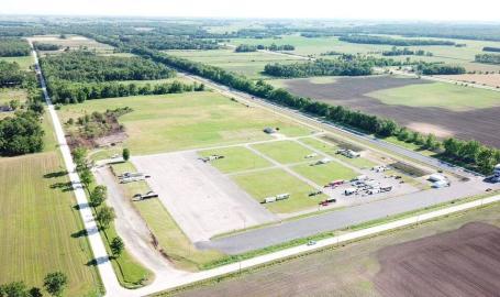 US 41 Dragstrip aerial