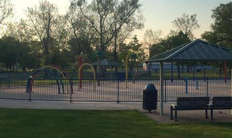 Wicker Memorial Park Splash Pad