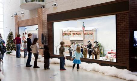 WF Wellman Exhibit Hall Indiana Welcome Center Hammond A Christmas Story Comes Home
