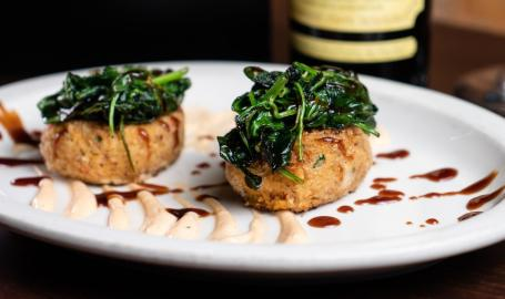Prime Steakhouse crab-cakes