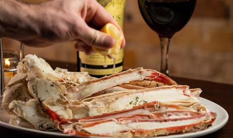 Prime Steakhouse crab