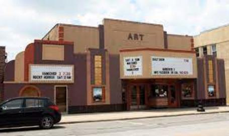 Hobart Art Theater Outside