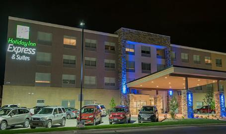 Holiday-Inn-Express-Merrillville-exterior