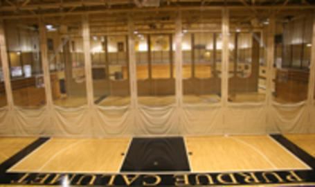 Purdue University Calumet basketball court