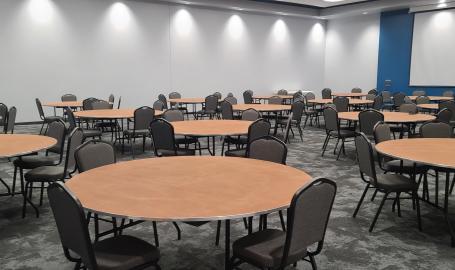 Dean & Barba White Banquet Room