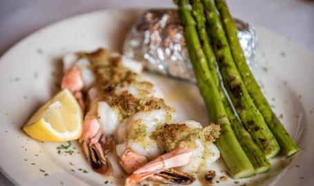 Prime Steakhouse shrimp