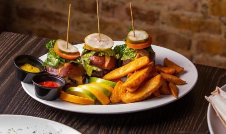 Prime Steakhouse sliders