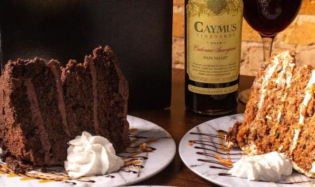 Prime Steakhouse wine-dessert