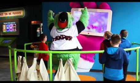 Mascot Hall of Fame - An Educational Interactive Experience