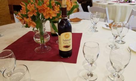 Anderson's Winery Valparaiso Wedding Reception Venue