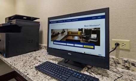 Best Western Northwest Indiana Inn Hammond Guest Computer