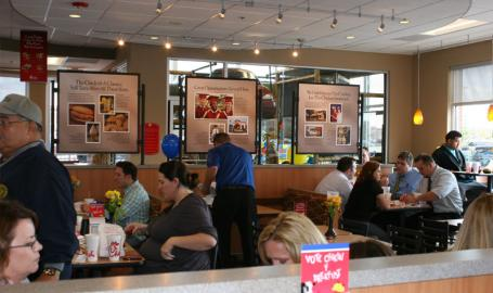Chick-fil-a Restaurants Merrillville Interior