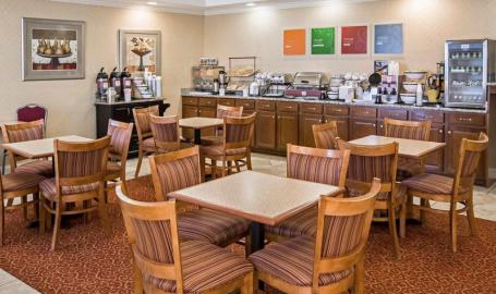 Comfort Inn Hotel Hebron breakfast