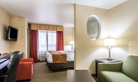 Comfort Suites Hotel Merrillville King