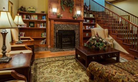 Country Inn and Suites Merrilllville Hotel lobby