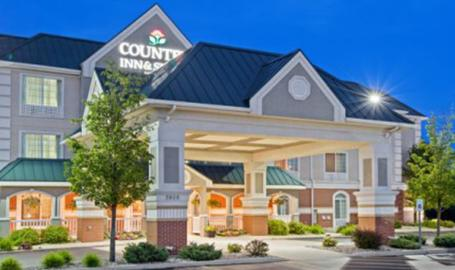 Country Inn and Suites Hotel Michigan City exterior