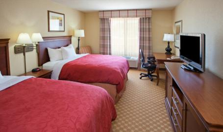 Country Inn and Suites Hotel Valparaiso double