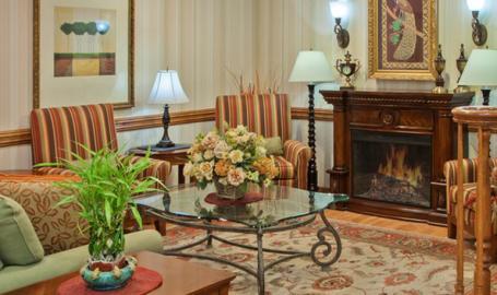 Country Inn and Suites Hotel Valparaiso lobby