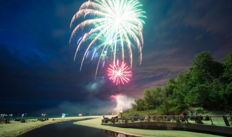 Duneland Fireworks