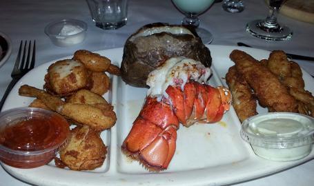 Freddys Steakhouse Hammond Restaurant seafood