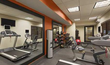 Hampton Inn Hotel Merrillville Fitness