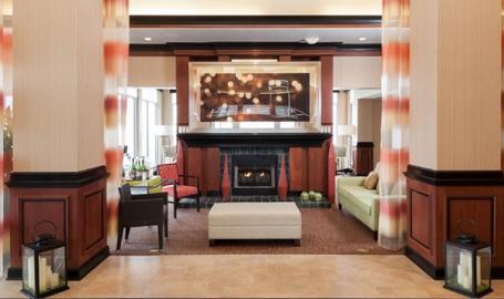 Hilton Garden Inn Merrillville Hotel lobby