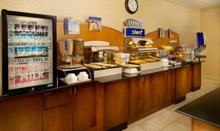 Holiday Inn Express Schererville Hotel breakfast