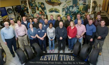 Levin Tires Highland Staff
