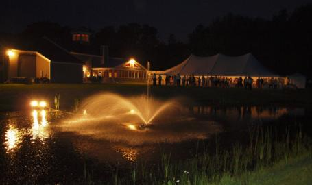 Shady Creek Winery outdoor event