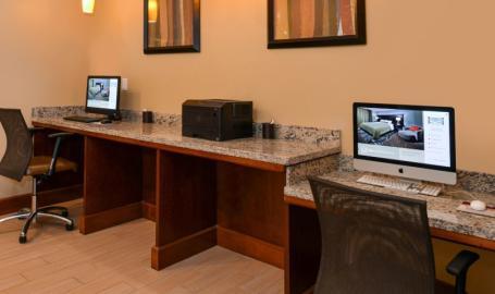 Staybridge Suites Merrillville Hotel business center