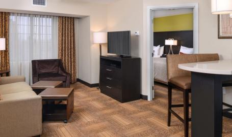 Staybridge Suites Merrillville Hotel guest room