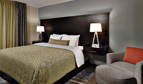 Staybridge Suites Merrillville Hotel king