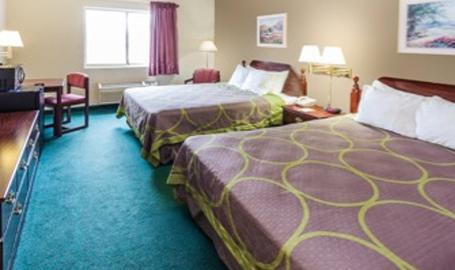 Super 8 Motel Hotel Valparaiso Double
