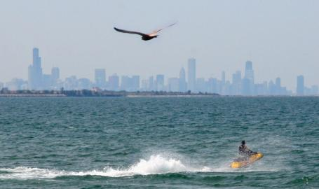 Whihala Beach Whiting Lake Michigan