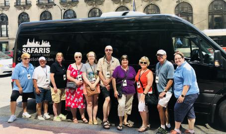 Group visit Downtown
