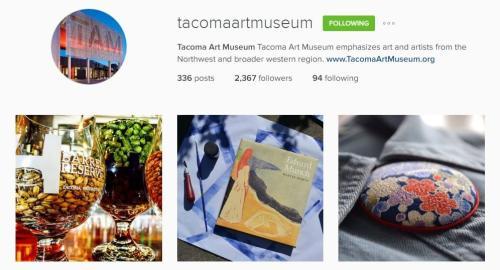 Tacoma Art Museum Instagram