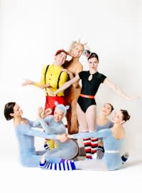 Photo of the cast for Rochester City Ballet Green Eggs and Ham