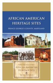 African American Heritage Sites Guide Prince George County, Maryland