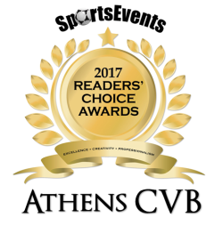 Sports Events 2017 Readers Choice Award Badge
