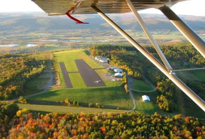 Chemung - Fall View from glider