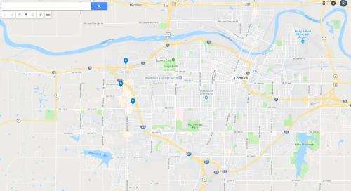 NAIA Bowling Map 2019
