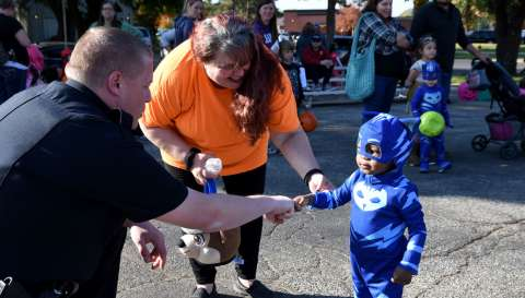 Trunk or Treat with OP Police Department