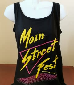 Main Street Fest Ladies Tank Top
