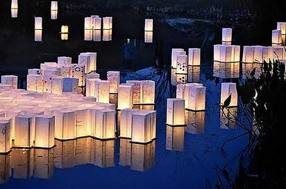Cameron Art Museum Floating Lantern Ceremony