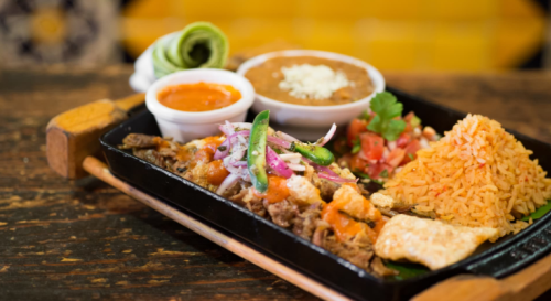 Dish at Taco Rosa in Irvine