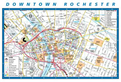 Downtown Rochester Map