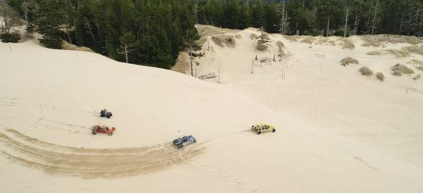 Dune Buggies Sand Dune Frontier by Eugene, Cascades & Coast