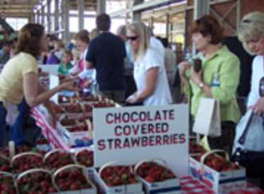 The Chattanooga Market offers excellent locally grown produce
